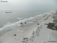 January 10, 2013 - Beach Fill Operations (A45)